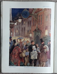 "Pears Annual 1925 - ""The Procession through the Streets"" by E H Shepard (mikeyashworth) Tags: pearsannual leverbrothers pearssoap sunengraving graphicart commercialart advertising illustration 1925 ehshepard mikeashworthcollection"