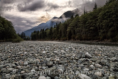 Stormy Sky, Bedwell River (chasingthelight10) Tags: travel trees sky canada nature clouds photography landscapes britishcolumbia events vancouverisland coastal rivers vistas storms westcoast wildernesstrails otherkeywords bedwellriver marinermountain mountursus