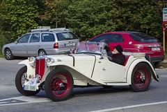 MG TA (1938) (The Adventurous Eye) Tags: classic car race climb do hill 1938 mg brno ta rallye závod soběšice vrchu brnosoběšice