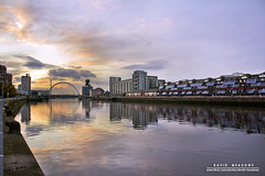 Clyde Sunset (DMeadows) Tags: city bridge sunset sky sun reflection water architecture clouds buildings reflections river landscape scotland riverclyde clyde cityscape glasgow centre reflect davidmeadows dmeadows davidameadows dameadows yahoo:yourpictures=waterv2 yahoo:yourpictures=yourbestphotoof2012 yahoo:yourpictures=reflectionsv2