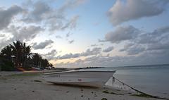Palmar Beach - Mauritius (digital_slice) Tags: white beach photoshop canon 350d boat sand honeymoon mare maurice kitlens ile september belle mauritius hdr 2012 palmar