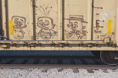 REAL ONE (TRUE 2 DEATH) Tags: railroad train graffiti fb tag graf trains railcar bums spraypaint railways railfan freight freighttrain rollingstock realone txk benching freighttraingraffiti