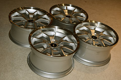 FR500s from LMR (snapper.) Tags: ford wheel silver model dish wheels deep late restoration mustang 500 gt dd rims fr oe sve distributors 18x10 fr500 18x9 latemodelresto