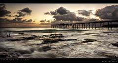 Catherine Hill Bay (Jay Daley) Tags: morning sun seascape abandoned water clouds sunrise nikon waves australia wash nsw centralcoast d800 1635 catherinehillbay coalloading