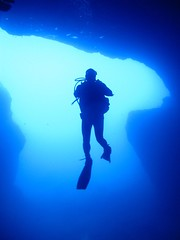 John in Cathedral Cave I. (Seascape Capers) Tags: yahoo:yourpictures=yourbestphotoof2012
