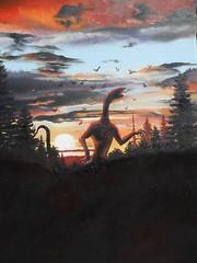 La vigilia della Venuta -Olio su tela- cm 25x35 -2012