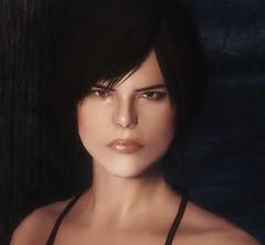 Becca - Female Nord character preset (teriric) Tags: face character characters mods preset presets skyrim tesv racemenu
