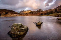 Blea Tarn Sunrise (Joey Hodgson *lost everything, now re-uploading*) Tags: sony sunrise tarn bleatarn lakedistrict sonya55 clouds water cumbria joeyhodgsonphotography landscape landscapephotography