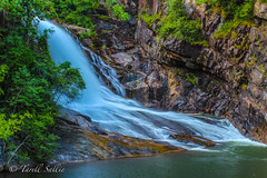 Tallulah Falls. August 2016 (tarell_sallie) Tags: ga georgia tallulah tallulahfalls tallulahgorge northga northgeorgia wandernorthga wandernorthgeorgia waterfall park statepark tallulahfallsstatepark tallulahgorgestatepark breathtaking amazing scenery landscape beautiful creek river mountains trees hills stone ancient atlanta august 2016 usa unitedstates america southern south thesouth copyright lightroom canon canont3i exposure longexposure slowexposure colorful shoot shootphotos glorious green clear blue rocks brown forest travel
