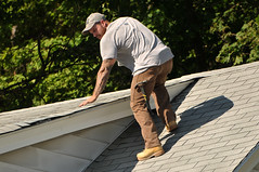 14 BEAR on the ROOF! (Violentz) Tags: male guy man roofer roof bear bearded hairy tattooed house home patricklentzphotography