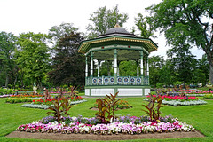 NS-02354 - Bandstand and Geometric Beds (archer10 (Dennis) 80M Views) Tags: halifax sony a6300 ilce6300 18200mm 1650mm mirrorless free freepicture archer10 dennis jarvis dennisgjarvis dennisjarvis iamcanadian novascotia canada publicgardens victorian best statues fountain duck flowers bandstand
