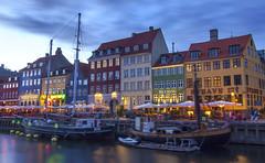 Nyhavn, Copenhagen (ar2ras) Tags: nyhavn copenhagen denmark water sunset dusk harbour harbor beautiful