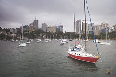 Sydney Harbour Sailboats (Schwaco) Tags: sydney australia sydneyaustralia boat boats harbor harbour bay dock sail sailboat water ocean wind anchor anchored ship ships