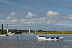 1M2A1876ps (pauljohnhawkins) Tags: brancasterstaithe brancaster norfolk sea sailingboat boat