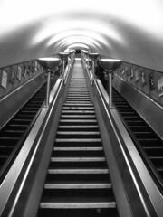 Clapham South Tube Station (chearn73) Tags: tube underground subway london uk claphamsouth tubestation blackandwhite travel