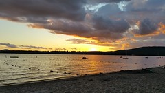 Sunset on Lake Pleasant, NY (bloesch14) Tags: camp woods sunset new york lake pleasant beach