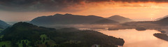 Sunrise Over Skiddaw (J_Tom) Tags: dawn sunrise over skiddaw mountain on derwentwater near the town of keswick lake district national park cumbria england