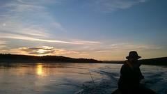 WP_20160707_00_26_54_Pro (www.ilkkajukarainen.fi) Tags: norway finland suomi scandinavia europa water vesi fishing salmon soutu kalastus urheilu lust fiske sport sun night 0100 hat man teno tana nuorgam