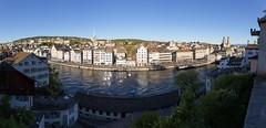 Zrich, Switzerland (maxunterwegs) Tags: cityscape limmat microsoftice pano panorama schweiz stitch stitched suisse suiza sua switzerland zurich zurique zrich zrich