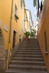 Villefranche-sur-Mer - Escalier del Pountin (CocoChantre) Tags: bauwerk treppe villefranchesurmer provencealpesctedazur frankreich fr