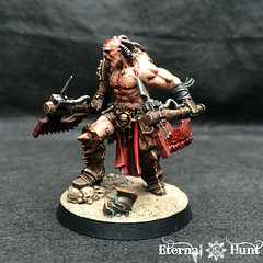 Angron Thal'Kr, Lord of the Red Sands (5) (KrautScientist) Tags: 30k horusheresy worldeaters gladiator conversion kitbash angron primarch lord red sands