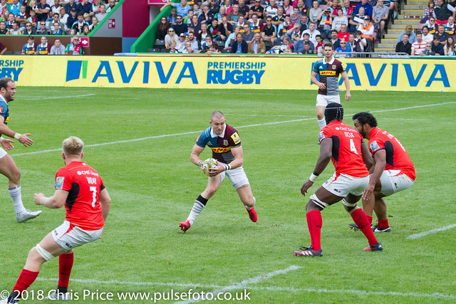 Quins 17 Saracens 10 Aviva Premiership 24th September 2016