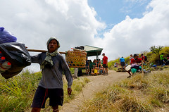 Rinjani mount porter (sydeen) Tags: rinjani outdoor hill hiking adventure hike heavy hiker summit backbreaking travel climbing camp asean trek teamwork indonesian carry walking lombok mount indonesia exhausting trekking explore people asia hard poverty mountaineering senaru men mountain tourism porter extreme track work path peak nature asian plawangan difficult house stop rest