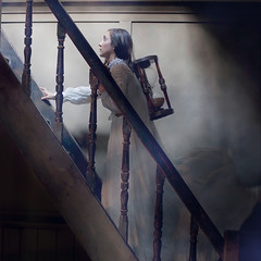 Time's up (Victoria Sderstrm) Tags: oliviaclemens stairs stairway staircase brookeshaden workshop oldhouse hourglass sandglass time sand dress brookeshadenworkshop victoriasderstrm victoriasoderstrom victoriasderstrmphotography victoriasoderstromphotography conceptualphotography conceptual concept konceptuelltfoto konceptuelltfotografi swedishfineartphotographer swedishphotographer london londonworkshop londonphotographyworkshop
