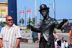 Chaplin In Yarmouth - Explored (EJ Images) Tags: uk portrait england people slr nikon candid norfolk explore undead yarmouth dslr zombies greatyarmouth livingstatue eastanglia 2012 chaplin nikonslr d90 walkingdead flickrexplore norfolkcoast nikondslr explored nikond90 dsc1548 charliechapin 18105mmlens ejimages deadonthestreets