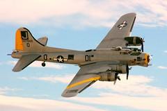 N5111N         B-17G      (ex 44-85734) (297849, D1-J) (RedRipper24) Tags: b17 warbird nellisafb nellisafbairshows
