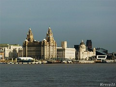 The 3 Graces (kev thomas21) Tags: water ferry liverpool waves waterfront estuary mersey landingstage merseyside liverbuilding 3graces