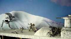 "Battle of Hoth diorama - imperial AT-ST approachin rebel trench • <a style=""font-size:0.8em;"" href=""http://www.flickr.com/photos/86825788@N06/7949272978/"" target=""_blank"">View on Flickr</a>"