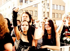 Tuska people (JO_Wass) Tags: people music black festival rock metal finland death concert helsinki audience goth 2011 tuska