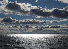 Pyhäselkä - Finland (Sami Niemeläinen (instagram: santtujns)) Tags: sunset cloud lake clouds suomi finland landscape north maisema joensuu pilvet järvi auringonlasku pilvi pyhäselkä pohjoiskarjala carelia