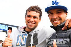 Abdel El Harim & Yassine Ramdani (MAR) - Foto: ASP (Ricosurf) Tags: france stars espanha europe lacanau ws pantn wqs ricosurf ricosurfglobocom 20123stareventaspaspeuropeaspworldtourcabreiroaespagnegalicepantinpantinclassicpropantinproseptembre
