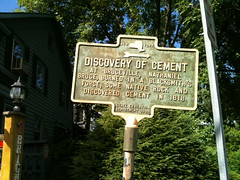 The Discovery of Cement, High Falls, NY (Village Green Realty) Tags: firsthand villagegreenrealty coldwellbankervillagegreen highfallsnyhighfallsnewyorkhighfallsrealestatehudsonvalleyrealestatecatskillsrealestateshawangunkmountainsnewpaltznewyorknewpaltznyhighfallshomesforsalehousesforsalehighfallshighfallshistoryhistorichighfallsnycg whodiscoveredcement whoinventedcement cementdiscovery cementinvention thisisny