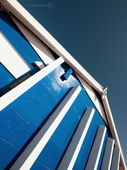 No. 14 (ShrubMonkey (Julian Heritage)) Tags: blue sky beach island hayling hut