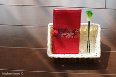 Thank you Sis & Niece♪ (bluehazyjunem) Tags: taiwan fork case souvenir niece card taipei sis karlzeissplanart1450mmzk