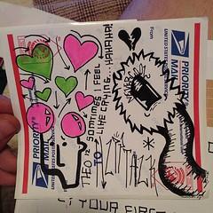 (THEO [spk]) Tags: streetart love graffiti sticker sad stickers theo usps spk heartbroken liptalk