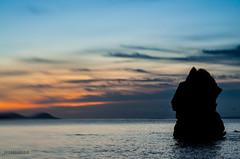 Se inu s'ed Guaila (Joseeivissa 2.0) Tags: sea beach sunrise de islands mar nikon mediterranean mediterraneo ses playa amanecer ibiza es eivissa kdd islas cala niu quedada platja balearic d90 pitiuses cubells illes flickeros pitiusas boques saguila