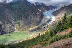 Salmon Glacier (h_roach) Tags: travel mountain nature horizontal alaska scenery view britishcolumbia height salmonglacier