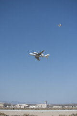 Blue Skies Greet Endeavour, SCA at Edwards Landing (ED12-0316-08) (NASA HQ PHOTO) Tags: ca usa nasa edwards spaceshuttle flyover edwardsairforcebase 747shuttlecarrieraircraftsca drydenflightresearchcenterendeavour tomtschida