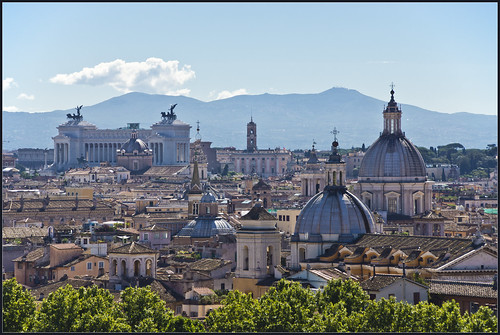 Rome Skyline by Bert Kaufmann, on Flickr