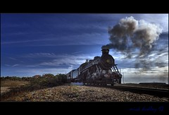 STEAM LOCOMOTIVE - Dr SYN (mickeydud) Tags: england history countryside kent nikon trains dungeness british cultures d800 antiquity steamlocomotives nikoncapturenx romneyhythedymchurchrailway worldwidelandscapes anticando historyantiquities mickeydud afsnikkor1424mm128ged storybookwinner