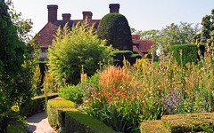 Great Dixter Gardens, Sussex, England (16 of 23) | A vibrant, dynamic and inspirational English garden centred around an old manor house (ukgardenphotos) Tags: uk flowers england plants english gardens analog 35mm garden geotagged sussex jardin