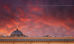 [Explore] [HDR] On The Roofs To Saint-Petersburg #1 ~ - / Russia ~~ (Yannick Lefevre) Tags: city roof sunset church architecture photoshop raw nef cityscape view russia perspective saintpetersburg hdr handled  photomatixpro nikoncapturenx nikond300 capturenx2 nikkor50mmf14g yllogo yannicklefevre  photography