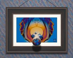 You Make Me Wanna Shout - Framed (Smoke Art #581) (Psycho_Babble) Tags: abstract 3d framed smoke incense smokeart smokephotography smokephoto smokemanipulation smokewallpaper creativesmoke