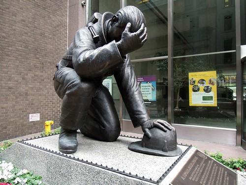 The Kneeling Fireman, From FlickrPhotos