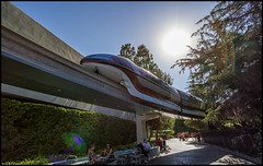 Monorail Monday - (Edition 50) (Coasterluver) Tags: disneyland disney monorail tomorrowland fantasyland monorailred markvii andrewkirby monorailmonday coasterluver