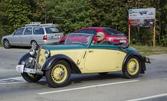 DKW F5 (1935) (The Adventurous Eye) Tags: classic car race climb do hill brno f5 rallye dkw cabriolet 1935 závod soběšice vrchu brnosoběšice